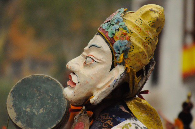 Festival monastique de danses sacrees de Stok au Ladakh