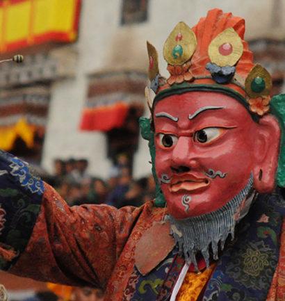 Du festival chamanique aux enseignements du Dalai Lama