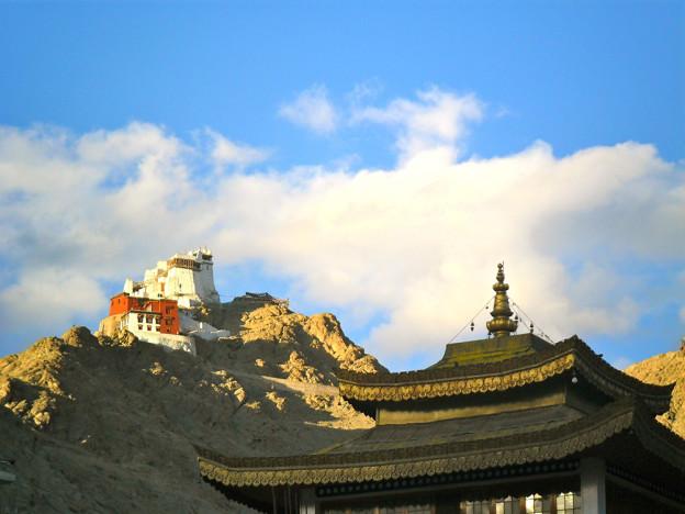 Tsemo monastery