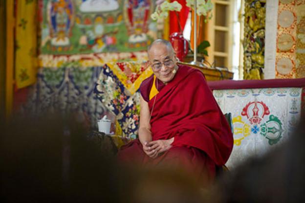 Enseignement Dalai Lama a Dharamshala