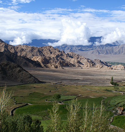 Paysages sublimes Ladakh avec Omalaya