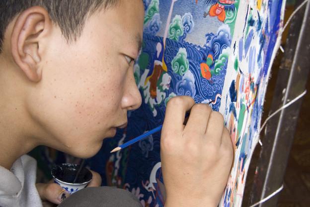 Peintures Tibetaines