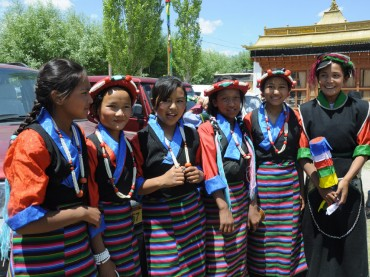 Anniversaire du Dalai Lama au Ladakh
