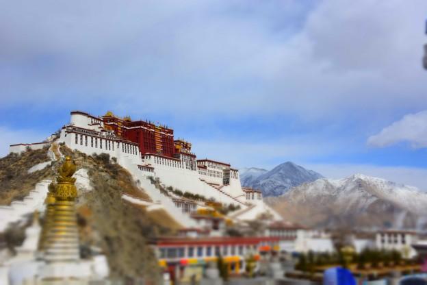 Le palais du Potala a Lhassa