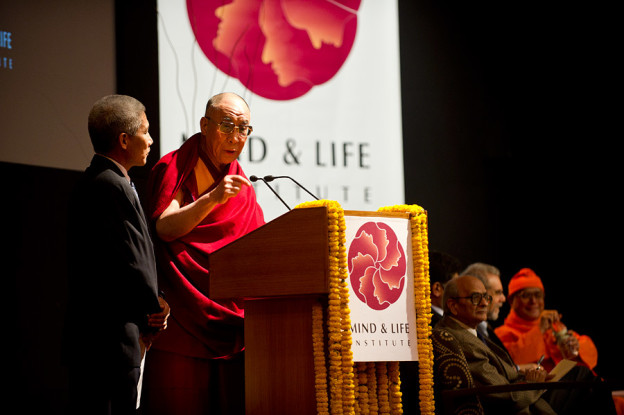 Dalai Lama au Mind and Life Institute