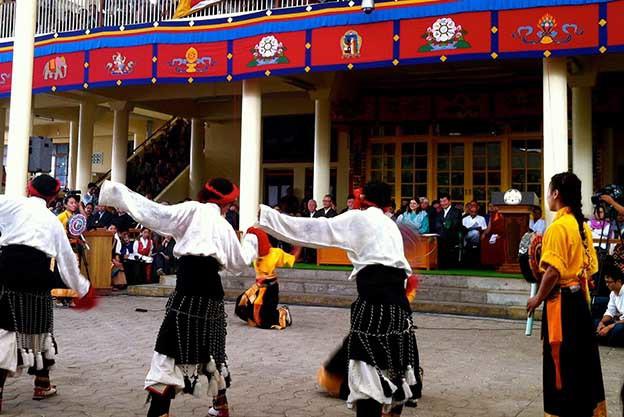 Les danseurs folkloriques