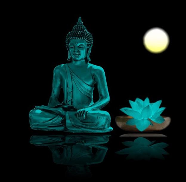 Bouddha meditant