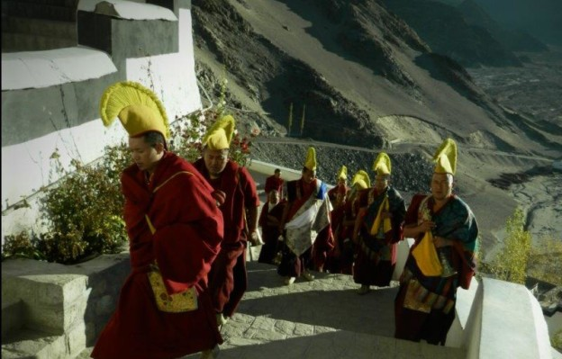 procession de moines