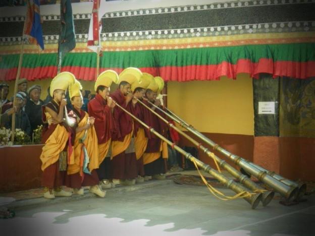 les moines musiciens
