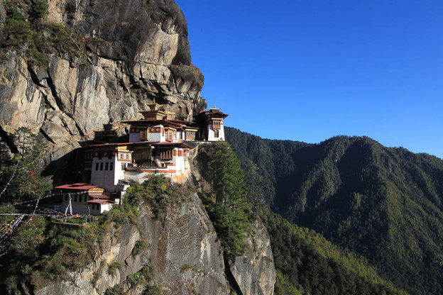 Niz Du tigre au Bhoutan