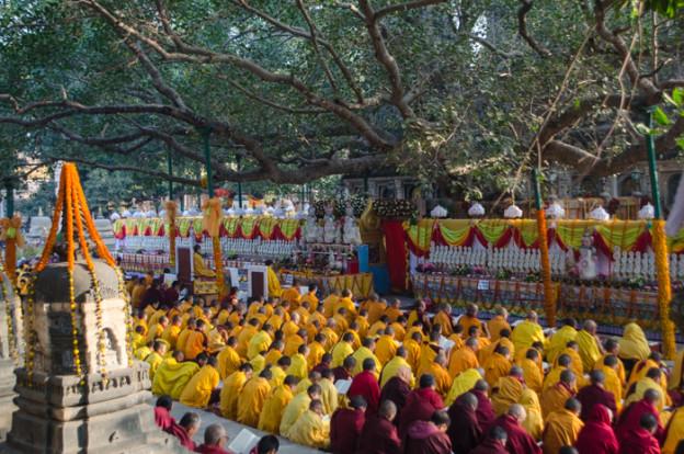 Prieres des Kagyu Monlam