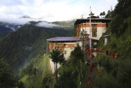 Monastere de Tango au Nepal