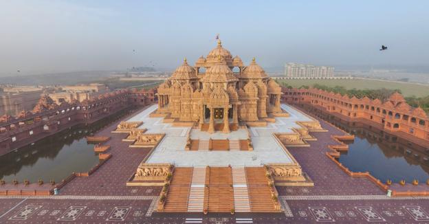 Temple d Akshardham a Delhi