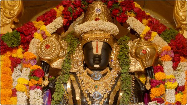 le dieu Venkateswara