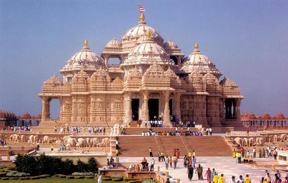 Le Temple D 39 Akshardham A Delhi Omalaya Voyage Initiatique Spirituel Et En Conscience En Inde