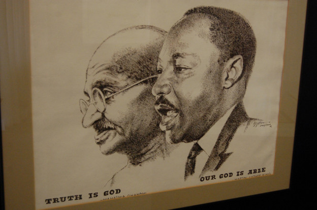 Gandhi Et Martin Luther King