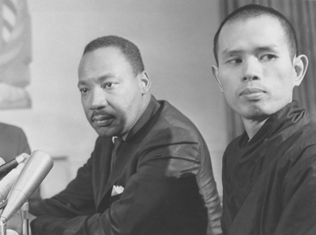 Thich Nhat Hanh et Martin Luther King