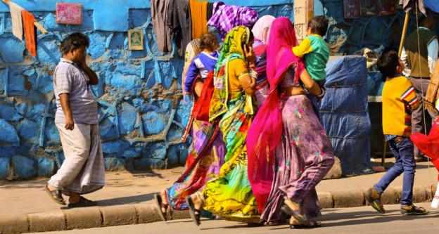 Delhi capitale coloree de l inde