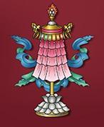 Bannière-Astamangala-8-signes-auspicieux-bouddhisme