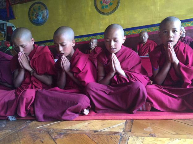 Nonnes de Timosgam ladakh