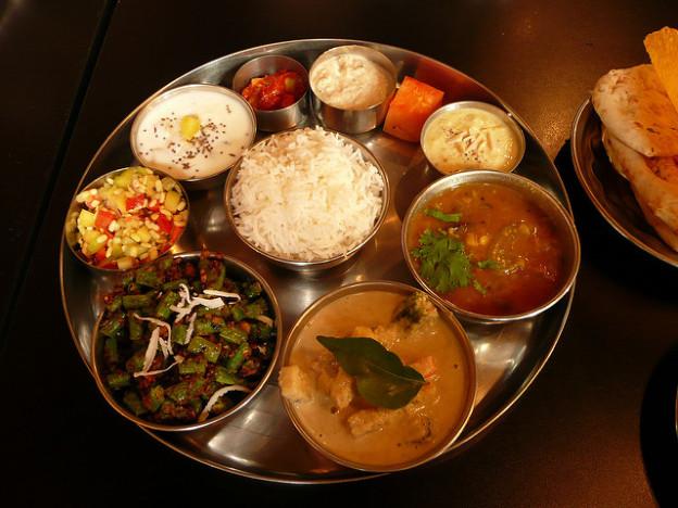 Nourriture Thali