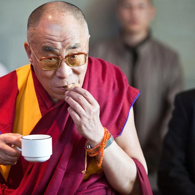 Dalaï-Lama, Thé