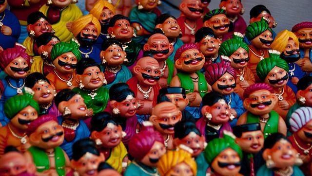 poupées indiennes
