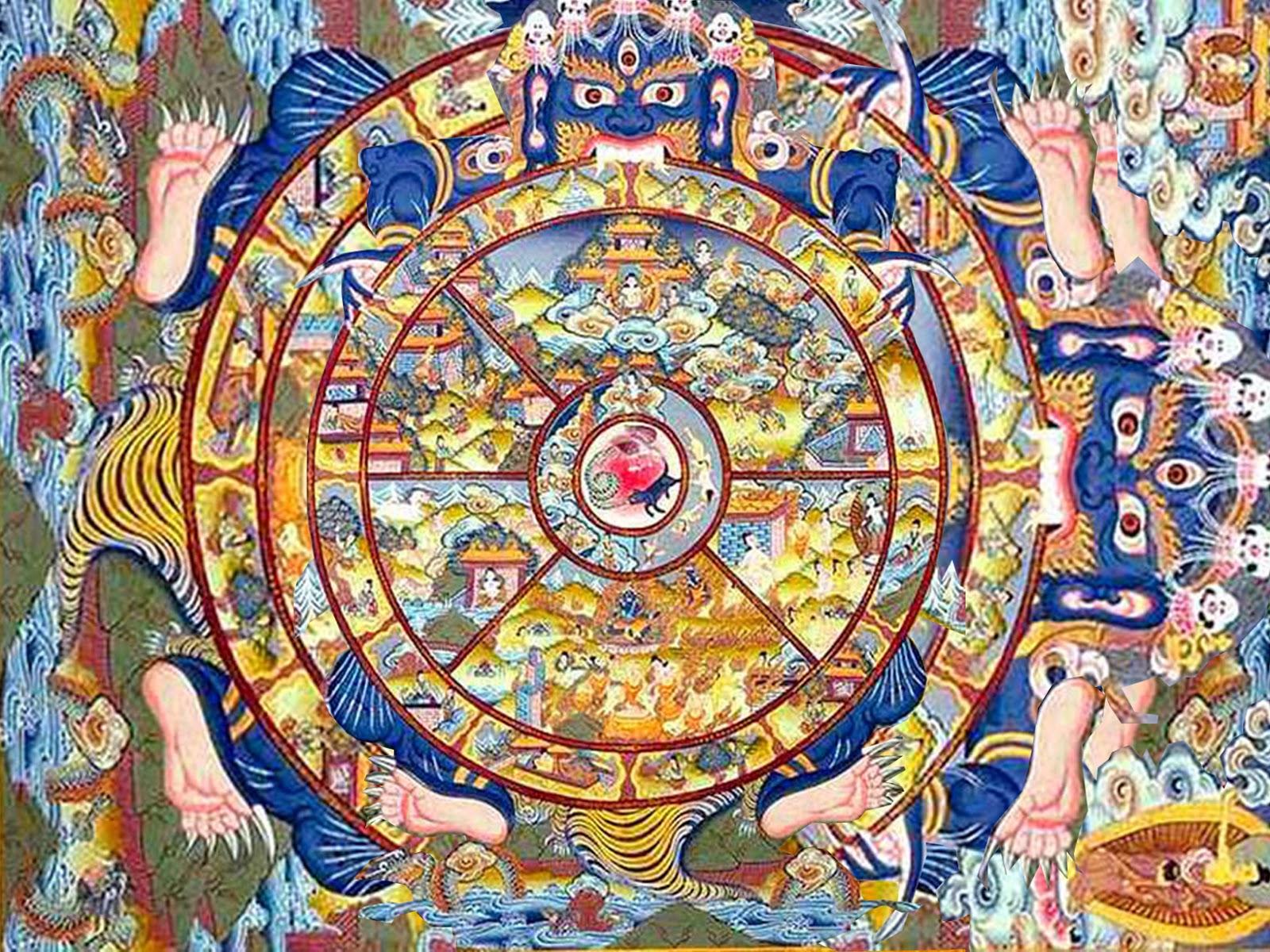 La roue du saṃsāra : comprendre le cycle des ...
