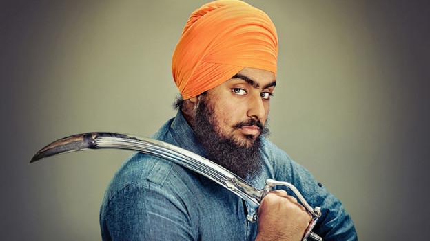 Sikh avec sa dague