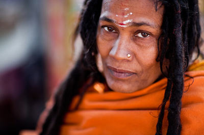 Femme sadhu