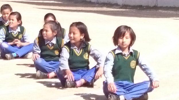 TCV enfant tibétain dharamsala