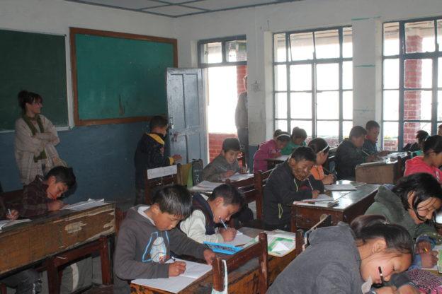TCV école réfugiés tibétains