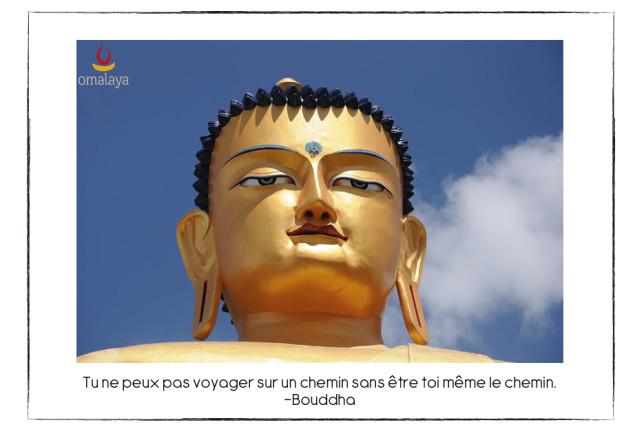 Bouddha et le chemin