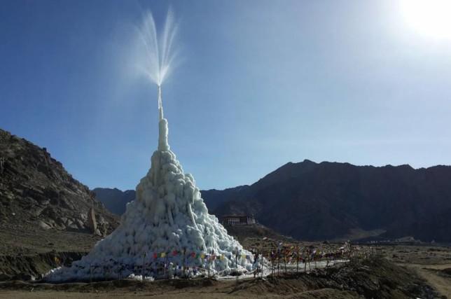 Stupa de glace