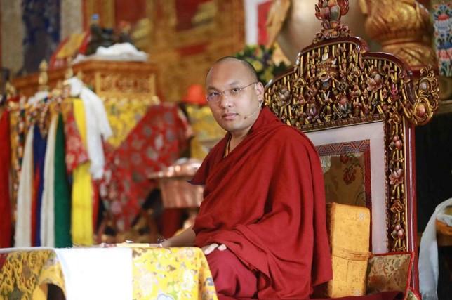 Sa Sainteté le 17e Karmapa, Orgyen Trinley Dorje