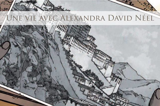 Alexandra David Neel BD illustration