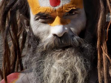 Sadhu Face
